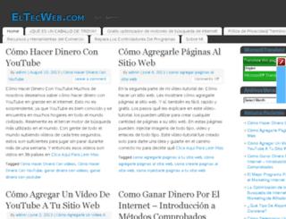 eltecweb.com screenshot