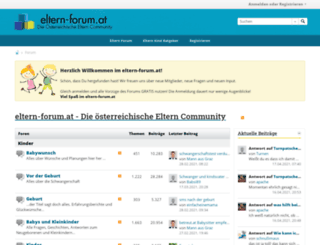 eltern-forum.at screenshot