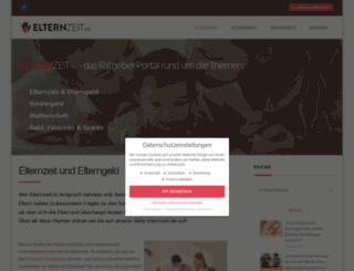 elternzeit.de screenshot