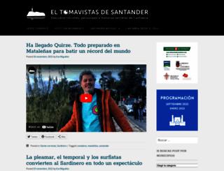 eltomavistasdesantander.com screenshot