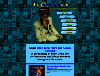 eltonography.com screenshot