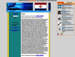 eltos.selec.ru screenshot