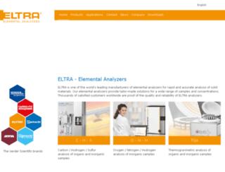 eltra.com screenshot