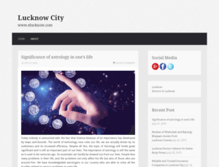 elucknow.wordpress.com screenshot