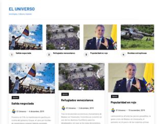eluniverso.com.co screenshot