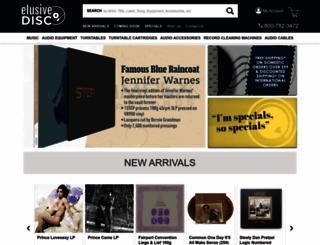 elusivedisc.com screenshot