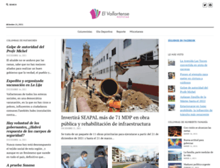 elvallartense.com.mx screenshot
