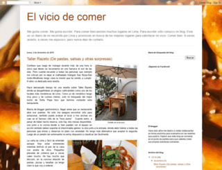 elviciodecomer.blogspot.pe screenshot