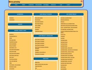 elvis-presley.allepaginas.nl screenshot