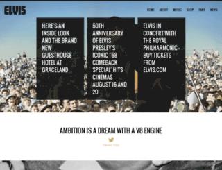 elvis-presley.com screenshot
