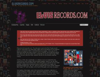 elvisrecords.us screenshot