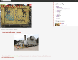 elvolquete.blogspot.com screenshot