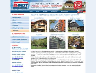 elwestreality.cz screenshot