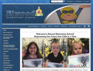 elwoodelem.schoolfusion.us screenshot