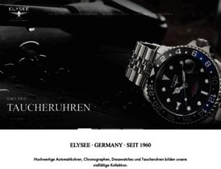 elysee-watches.com screenshot