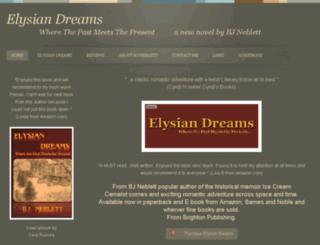elysiandreamsbook.webs.com screenshot