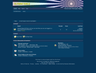 elysion.freeforums.net screenshot
