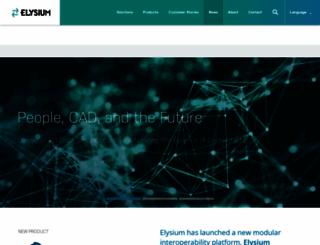 elysium-global.com screenshot