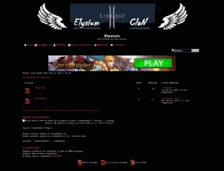 elysium.forolatin.com screenshot