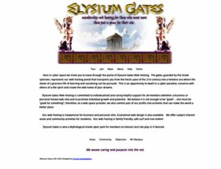 elysiumgates.com screenshot