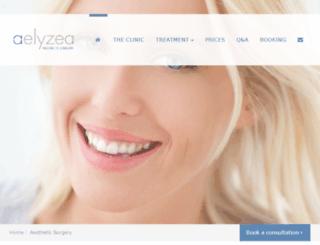elyzea.co.uk screenshot