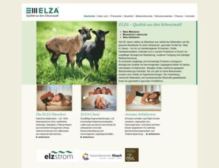 elza.de screenshot