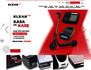 elzab.com.pl screenshot