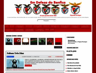 em-defesa-do-benfica.blogspot.com.br screenshot