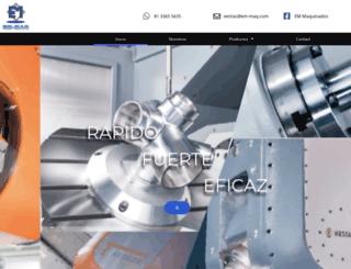 em-maq.com screenshot