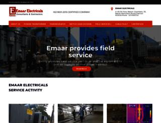 emaarelectricals.com screenshot