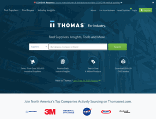 emaat.thomasnet.com screenshot