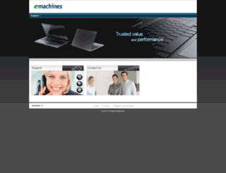 emachines.com.au screenshot