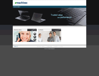 emachines.fr screenshot