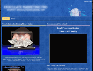 emaculatemarketingpro.spruz.com screenshot