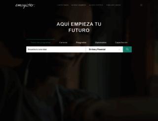 emagister.com.mx screenshot