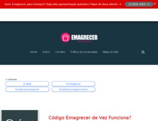 emagrecerparasempre.com.br screenshot