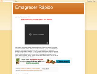 emagrecerrapidoeuquero.blogspot.com.br screenshot