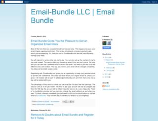 email-bundle.blogspot.com screenshot