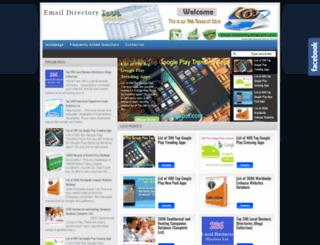 email-directory.blogspot.com screenshot