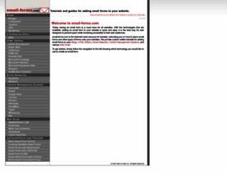 email-forms.com screenshot