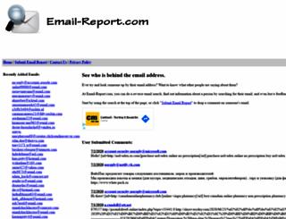 email-report.com screenshot