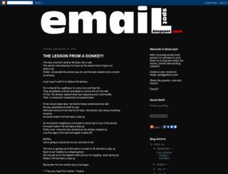 email-spot.blogspot.com screenshot