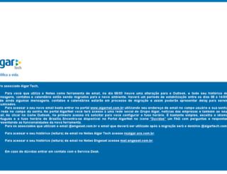 email.algartecnologia.com.br screenshot