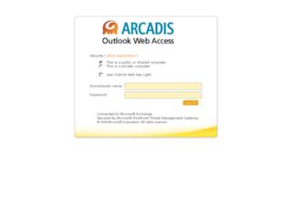 email.arcadis-us.com screenshot