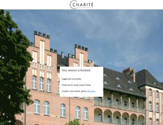 email.charite.de screenshot