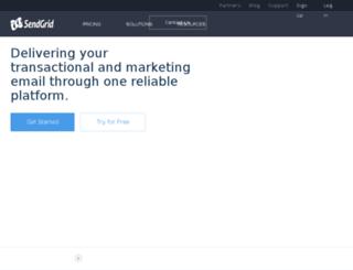email.gamesalad.com screenshot