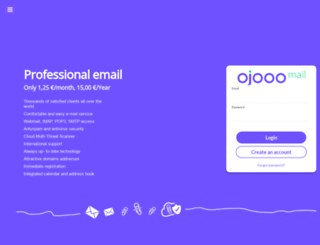 email.ojooo.com screenshot