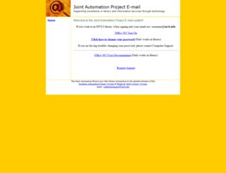 email.sals.edu screenshot