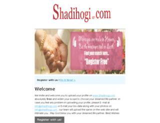email.shadihogi.com screenshot