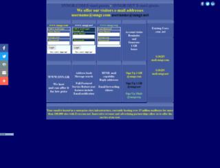 email.snngr.com screenshot